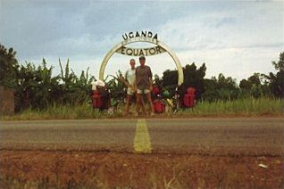 Halftime: at the equator in Uganda